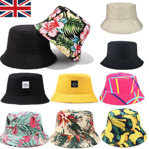 Bucket Hats Festival Canvas Bright Color Fisherman Foldable Patch Caps Beach Hat