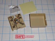 L-COM TDA310-6C Modular Phone Jack RJ12 6x6 QTY-1 Side Access Surface Mount D36