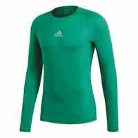 Adidas Fußball Alphaskin Langarmshirt Herren Unterziehshirt Funktionsshirt grün