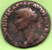 = CLAUDIUS  (50-54) - As - S C: Minerva