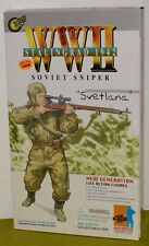 DRAGON 1/6 WORLD WAR II RUSSIAN SVETLANA SOVIET SNIPER STALINGRAD 1942