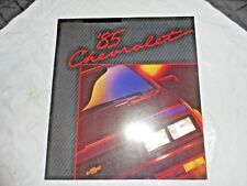 "1985 Chevrolet Dealer Brochure 9"" X 10"" 18 Pages Excellent Condition - New"