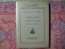 L'esprit Montmartrois, interviews et souvenirs