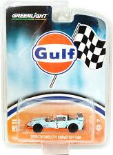 Greenlight 2009 Chevrolet Corvette C6R Gulf Oil Racing 1:64 29885
