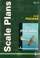Scale Plans for F.M.A. IA-58A/D Pucara