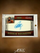 2009 Timeless Treasures ROOKIE RECRUITS STEPHEN CURRY ROOKIE RC AUTO 09/25 SSP