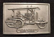 Caterpillar Tractor Vintage Belt Buckle *Nice*