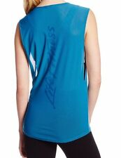 Life Fitness Apparel Sleeveless Mesh Gym Top - Blue Sapphire - Large - NWT