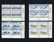 (SBAZ 139) Jamaica 1999 MNH BL OF 4 UPU 125 Anniversary AIRMAIL MAIL SHIPS PLANE