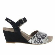 Animal Print 100% Leather Platforms, Wedges Women's Sandals & Beach Shoes