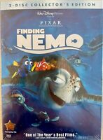 Finding Nemo (DVD, 2003, 2-Disc Set) New & Sealed FREE FIRST CLASS SHIPPING