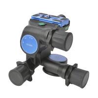 Benro GD3WH 3D Getriebekopf & Schnellwechselplatte Combo für Kamera Stativ