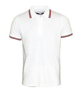 Antonio Basile Herren Poloshirts Weiss BAS3 Gr XL