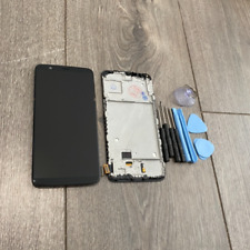 "OEM ONEPLUS 5T A5010 6.01"" LCD DISPLAY +TOUCH SCREEN DIGITIZER WITH FRAME"