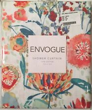 ENVOGUE April Printed Cloth Shower Curtain in Multi Color $22+NWT RN#119737