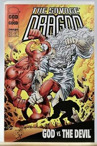 Savage Dragon #31 1996 First Print Image Comics Censored Edition NM God Vs Devil