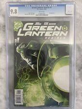 CGC Graded 9.8 Green Lantern Rebirth #1 (2004) DC COMICS WHITE PAGES