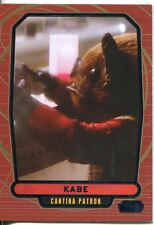 Star Wars Galactic Files 2 Blue Parallel Base Card #365 Kabe