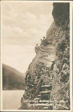 Glendalough.  Co. Wicklow. St Kevin's Bed. 3 Gentlemen. Fergus O'Connor RL.350