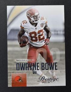 2015 Prestige #74 Dwayne Bowe - NM-MT