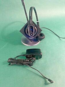 Sennheiser DW Pro 2 Dual Ear Wireless Office Headset + Base DW BS US DECT