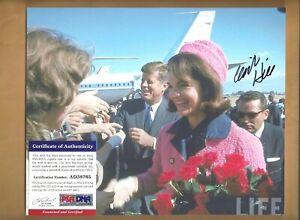 "PSA/DNA Clinton ""Clint"" Hill ""JFK Dallas Motorcade"" Autographed 8x10 Picture"