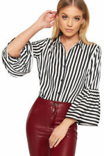 Maglie e camicie da donna camicetta con colletto, taglia 40