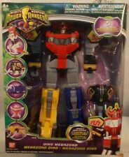 Mighty Morphin' Power Rangers 2010 Dino Megazord T-Rex 5 Zords Combine (Sealed)