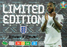 PANINI ADRENALYN XL UEFA EURO 2020 RAHEEM STERLING LIMITED EDITION CARD ENGLAND
