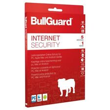 BullGuard Internet Security 5 PC 1 Jahr 2018 verschlüsseltes Cloud-backup