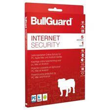 Bullguard Internet Security 5 PC 1 Jahr 2018 verschlüsseltes Cloud-Backup