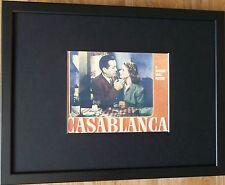 Movie print - Lobby card, Casablanca -12''x16'' frame - Movie Icon wall art