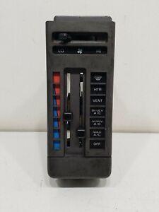 1988-1993 S10 Blazer Jimmy S15 Sonoma heater ac control switch panel bezel