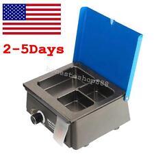 USA! Dental 3 Well Analog Wax Melting Dipping Pot Heater Melter Equipment 0-150℃