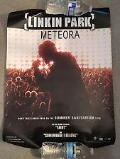 LINKIN PARK-METEORA PROMO POSTER-HARD TO FIND VERSION