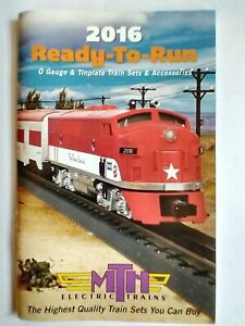MTH 2016 Ready-To-Run Train Sets & Accessory Catalog ~ TS