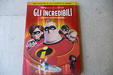 GLI INCREDIBILI-BOX DVD con nr 2 FILM-DISNEY/PIXAR 2005