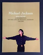 Michael Jackson Gold Memorial Program Ticket 2-Wristband  !!MINT ON SALE !!