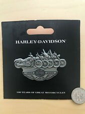 HOG Harley Davidson 2003 Line Up Pin 100th Anniversary