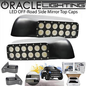 ORACLE Off-Road LED Side Mirrors for 09-14 Ford F150 & Raptor *6000k White #5752