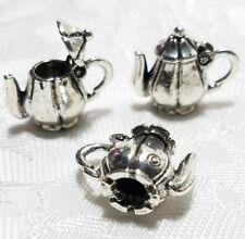 30//100//300 pcs Retro style Very lovely teapot alloy charm pendant 17x10 mm