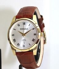 KIENZLE Herrenuhr  Leder Armband Saphirglas 5 BarW.R.