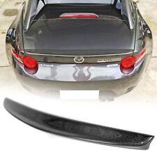 Carbon Fiber Mazda MX5 MX-5 Miata 2DR Convertible D Style Trunk Spoiler 18 RF GS