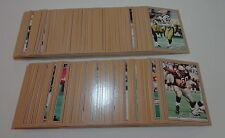 2001 Jogo '01 CFL Football Near Card Set 218 of 220, Series 1 & 2
