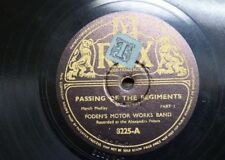 78rpm FODEN`S MOTOR WORKS BAND passing of the regiments 1&2
