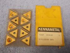 NEW  GRADE K6 KENNAMETAL TP-62 CARBIDE INSERTS 10 PCS
