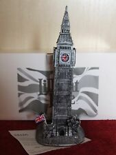 LILLIPUT LANE BIG BEN (PEWTER FINISH) C/W BOX & DEEDS