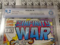 Infinity War (1992) Marvel - #4, CBCS 9.2 (NM-), Avengers 4 Infinity War Movie