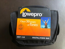 Lowepro Edit 110 Shoulder Strap Camera Gopro Bag NEW WITH TAGS