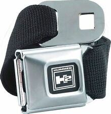 Hummer H2 Logo Licensed Seat Belt  Design Belt Buckle Combo for Pants